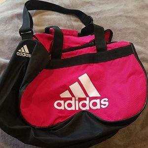 53560937cd Women s Pink Adidas Gym Bag on Poshmark